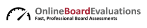 Online Board Evaluations Logo